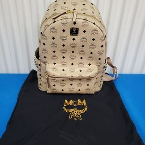 MCM Stark Side Stud Medium Very Near DEADSTOCK ~ E